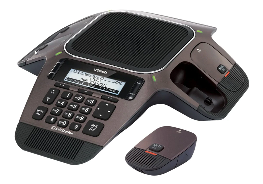 Vtech ErisStation VCS754 Conference VoIP phone web