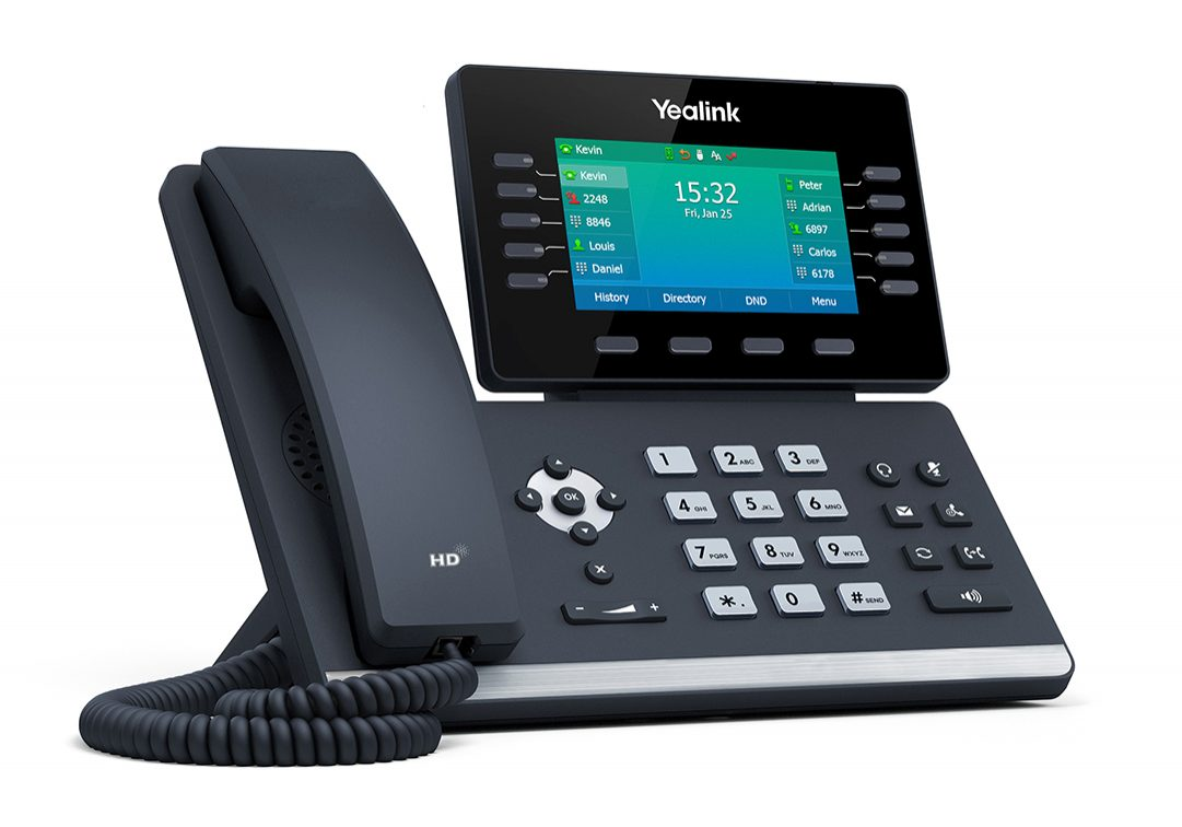 Yealink T54W Phone Right